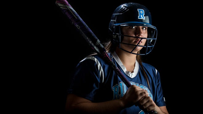Richmond High School freshman Erin Shuboy is the Times Herald Softball Player of the Year.