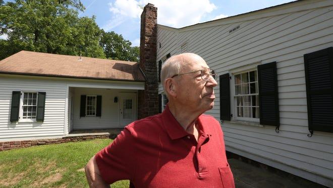 Heritage of West Nyack Chairman Bert Dahm at the Vanderbilt-Budke house in West Nyack on Aug. 9.