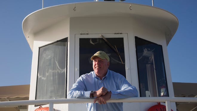 Photo taken earlier this year of Captiva Cruises owner Paul McCarthy,  who was found dead of natural causes on Wednesday, Aug. 24.