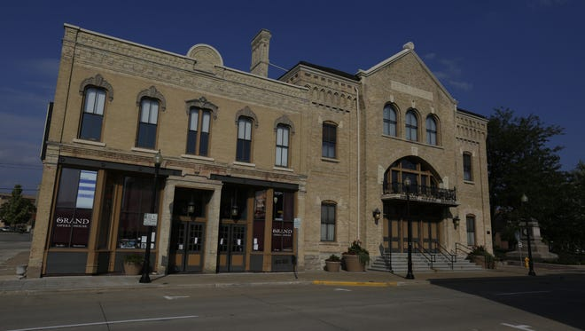 The historic Grand Opera House in Oshkosh was designed by architect William Waters.