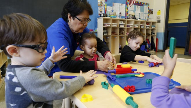 The West Street Child Care Learning Center in Haverstraw in March.