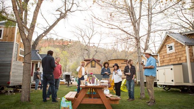 WeeCasa, a tiny house hotel in Lyons, Colorado, offers a tiny Colorado getaway.