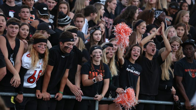 West Salem defeats Sprague 36-29 in a Greater Valley Conference game on Friday, Sept. 9, 2016, at Sprague High School.