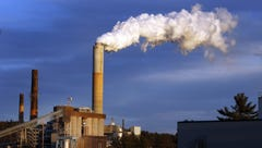 Coal-fired plants like this one in New Hampshire would