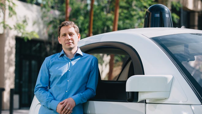 Dmitri Dolgov, a longtime veteran of Google's seven-year self-driving car effort, recently took over as technical lead, replacing Chris Urmson.