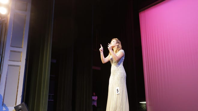 Anne Smith was selected as the new Distinguished Young Woman of Greater Tippecanoe County on Sunday at the Long Center for the Performing Arts.