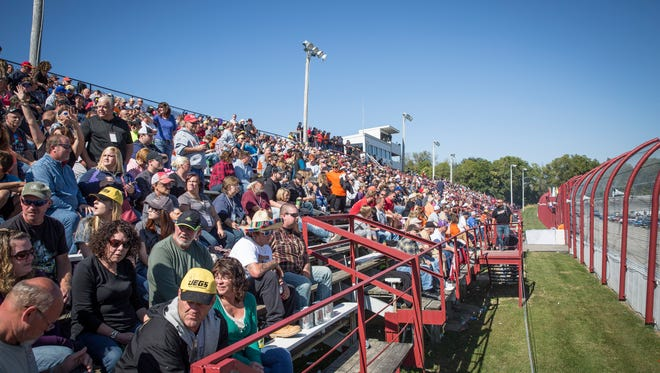 Hundreds gathered for the 45th annual Winchester 400 at the Winchester Speedway. The annual event brings in hundreds of race spectators from across the country.