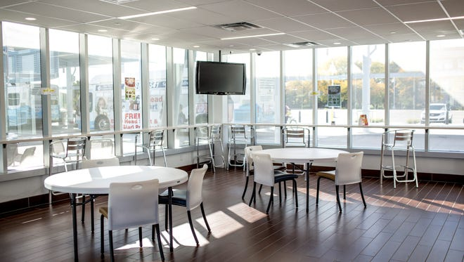 The Sail In Cafe, at the Blue Water Transit Bus Center in downtown Port Huron, offers a convenience store style selection of food, as well as fresh deli sandwiches, soups, salads and more. The cafe is operated by St. Clair County Community Mental Health.