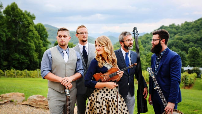 Mountain Faith performs on Oct. 20 at Haywood Community College Auditorium in Clyde.