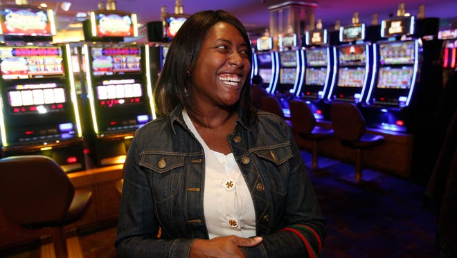 Beverly Butler of Brooklyn enjoys going to the Empire City Casino in Yonkers.