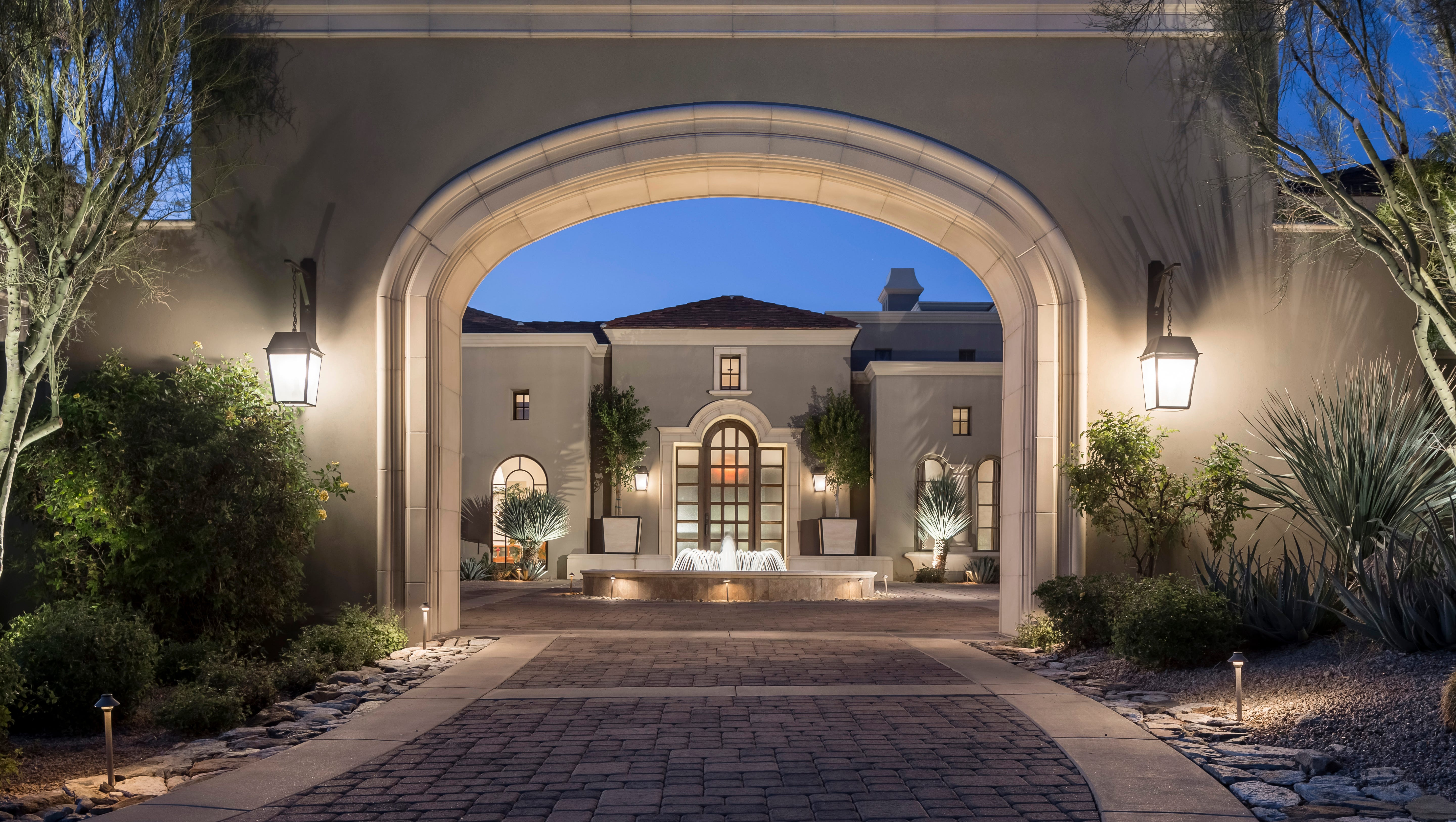 luxury homes retreat style living in 1 7 million peoria mansion next