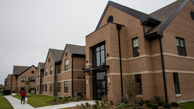 The newest dorm building at the Culinary Institute of Michigan can house 34 students.