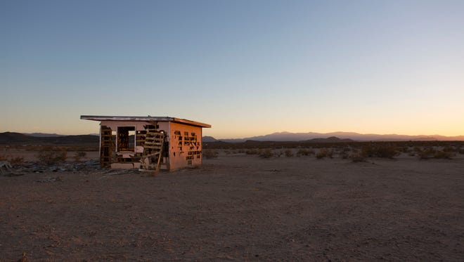 A homestead in the Sonoran Desert.