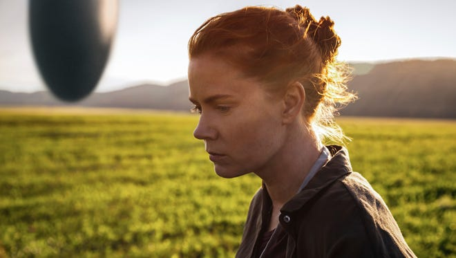 "Amy Adams plays a translator brought in to decipher the language of an alien race in ""Arrival."""