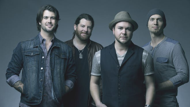 The Eli Young Band will perform at Concrete Street Amphitheater on Nov. 17.