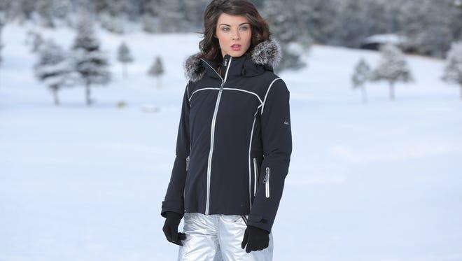 The Gigi jacket in black, $745.