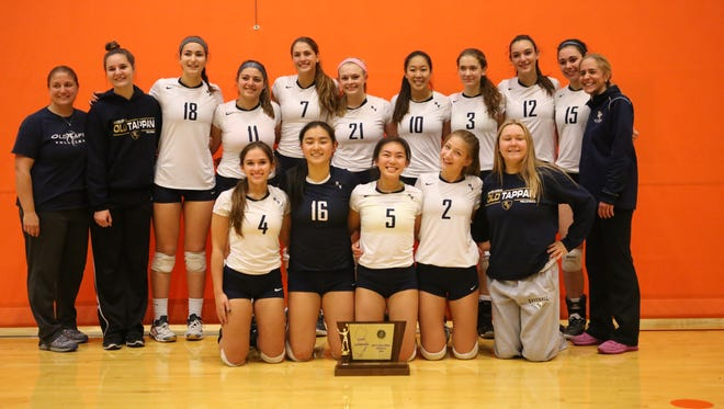 Group 3 and Tournament of Champions winner NV/Old Tappan ends the season at No. 1 in The Record girls volleyball Top 20.