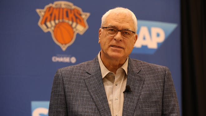 Knicks President Phil Jackson has the team at a crossroads once again.