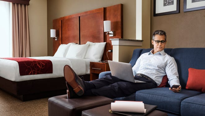 Comfort Suites is among several hotel brands that are boosting Wi-Fi speeds and standards.