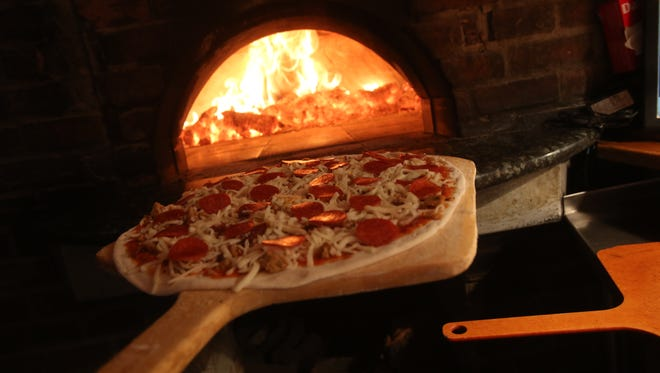 Brickworks Bistro in Palm Springs offers a varied menu including pizzas cooked in open style oven.