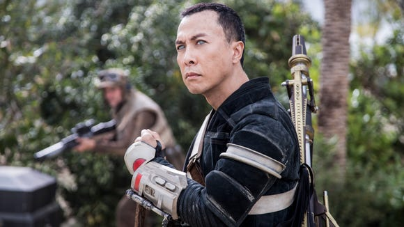 Chirrut Îmwe (Donnie Yen) might be blind, but he's