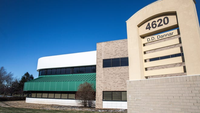 The building used by Gary Dannar's D.D. Dannar company along Bethel Avenue in December.
