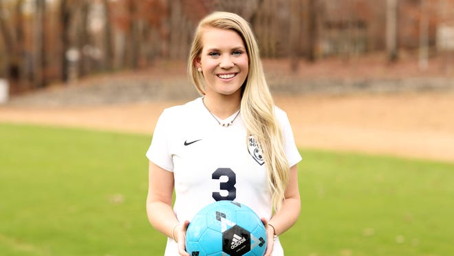 Madison's Brittany Bray is the 2016 All-West Tennessee Girls Soccer Midfielder of the Year.