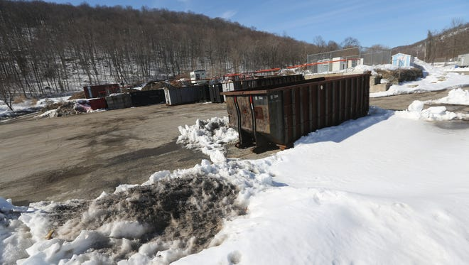 Ringwood Borough plans to replace its existing recycling center (as seen in 2014) with a similar facility on the adjacent Ford Superfund site in 2017.