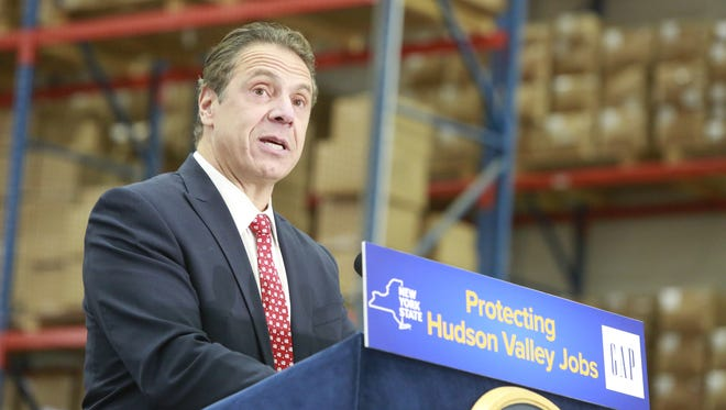 New York State Governor Andrew Cuomo.