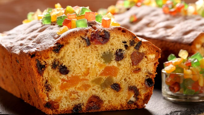 Ah, the love and hated fruitcake.