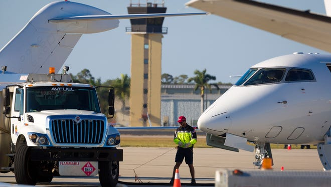 Naples Municipal Airport had a good year for aviation fuel sales in 2016, and expects strong sales into the new year.