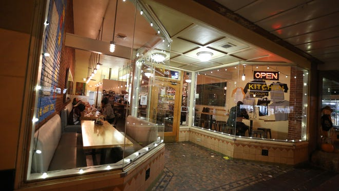 The Kitchen on Court Street, at 466 Court St. NE, has vegan and vegetarian options.