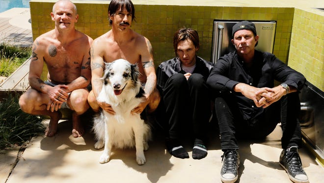 Red Hot Chili Peppers play the FedExForum on Thursday.