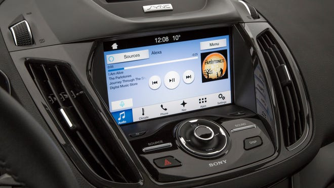Amazon's Alexa will soon be making nice with Ford's SYNC 3 AppLink.