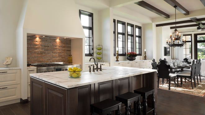 Ashton Woods' Catalonia, shown, and Tarragona models are available for quick move-in in Fiddler's Creek..