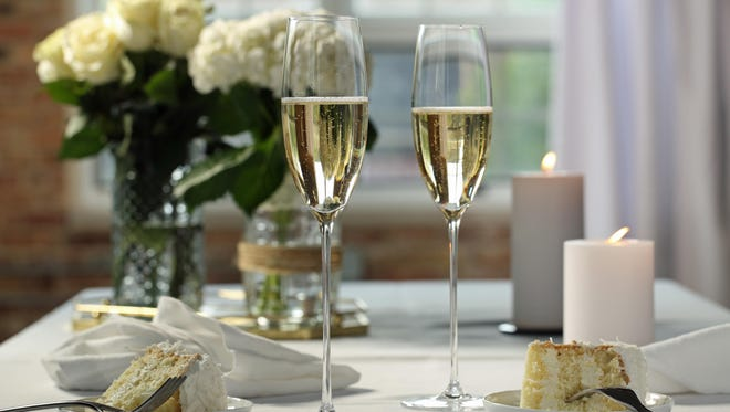There is one thing that remains constant about weddings -- there must be wine.