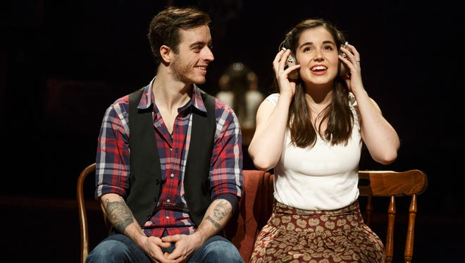 (L to R) Sam Cieri and Mackenzie Lesser-Roy from the ONCE tour company.