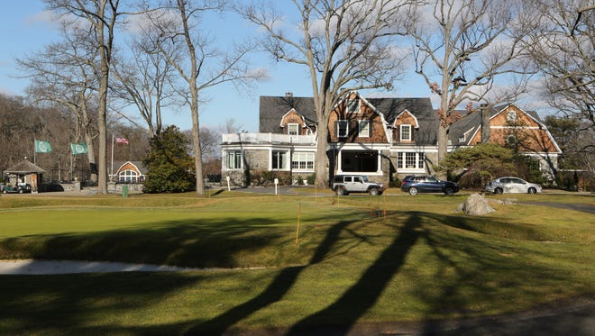 The clubhouse and grounds at The Apawamis Club in Rye, Jan. 25, 2017.