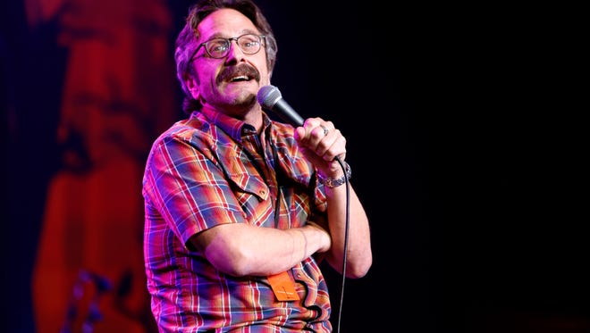 Comedian Marc Maron attends Hilarity for Charity's 5th Annual Los Angeles Variety Show: Seth Rogen's Halloween at Hollywood Palladium on October 15, 2016 in Los Angeles, California.