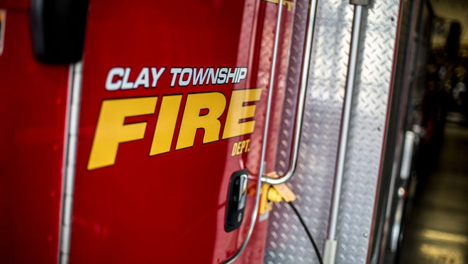 The Clay Township Fire Department, 9620 Ainsworth Drive.