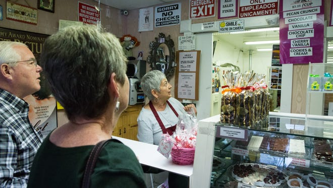 Linda Jackson, who owns The Chocolate Lady in Mesilla, said she supports a proposed bill that would eliminate gross receipts tax at small businesses in New Mexico on the Saturday after Thanksgiving.