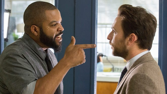 "Ice Cube, left, and Charlie Day in ""Fist Fight."" The movie is play at Regal West Manchester Stadium 13, Frank Theatres Queensgate Stadium 13 and R/C Hanover Movies."