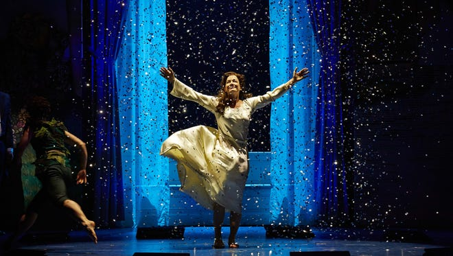 """Laura Michelle Kelly in the Broadway production of """"Finding Neverland."""""""