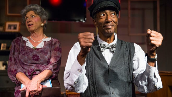 """The Marco Players always includes a classic in the mix. Last season it was """"Driving Miss Daisy,"""" starring Marilyn Hilbert and Don Manley."""