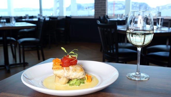 The Chilean sea bass at 3 Westerly Bar & Grill, a nautical-themed gastropub on the Ossining waterfront, March 20, 2017.