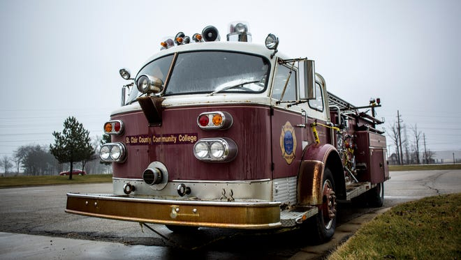 The Marysville Fire Department is selling this 1968 American LaFrance firetruck, among other equipment.