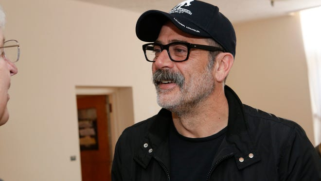 Actor Jeffrey Dean Morgan and his wife fellow actress Hilarie Burton, are leading efforts to renovate the Astor Services for Children and Families in Rhinebeck on Apr. 11, 2017.  The renovations will start with the 4 existing wings of the facilities with the goal to raise funds to build a whole new wing.