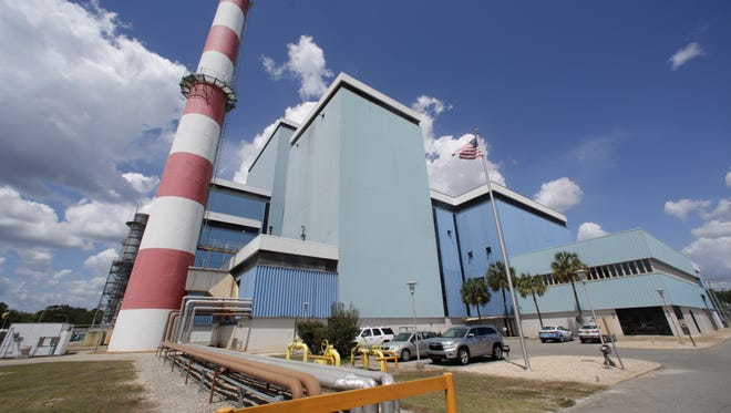 The city's Arvah B. Hopkins Generating Station burns natural gas to generate electricity, but maintains a supply of diesel fuel as a backup so that the station can continue to operate if their supply of natural gas is interrupted.