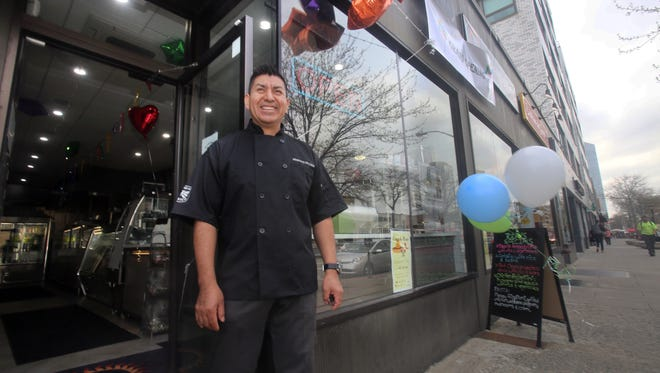 Genaro Domingues, owner of Sundance Kitchen, a new restaurant in White Plains.