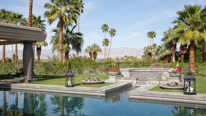A luxury vacation rental in the Palm Springs area, represented by onefinestay.